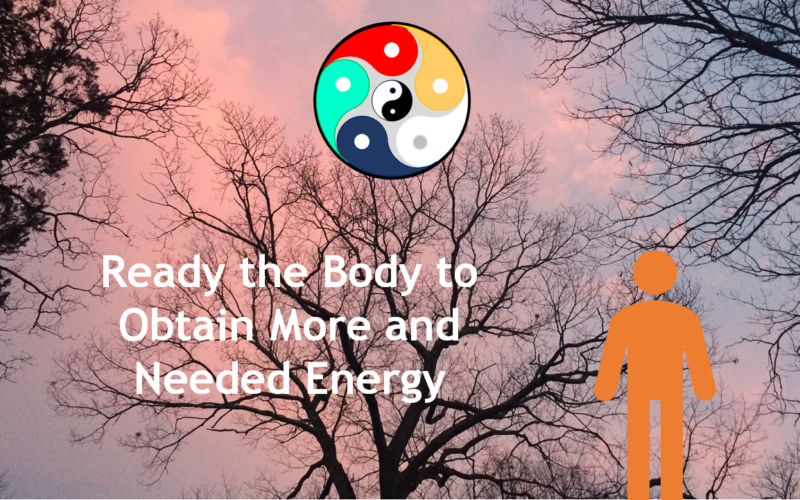 Readying the Body to Obtain More and Needed Energy