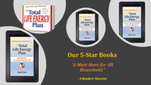"The eBooks and print book ""Total Life Energy Plan"""